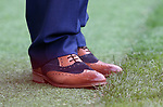 England's Aidy Boothroyd's lucky shoes during the UEFA Under 21 Semi Final at the Stadion Miejski Tychy in Tychy. Picture date 27th June 2017. Picture credit should read: David Klein/Sportimage