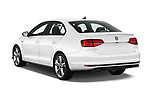 Car pictures of rear three quarter view of 2017 Volkswagen Jetta GLI 4 Door Sedan Angular Rear