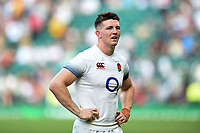 Tom Curry of England looks on after the match. Quilter Cup International match between England and the Barbarians on May 27, 2018 at Twickenham Stadium in London, England. Photo by: Patrick Khachfe / Onside Images