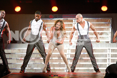 Jennifer Lopez performance at Boardwalk Hall in Atlantic City, New Jersey on July 29, 2012  &copy; Star Shooter / MediaPunchInc *NortePhoto.com<br />