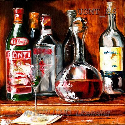 Malenda, STILL LIFES, paintings, mixology II(USMT86,#I#) Stilleben, naturaleza muerta, illustrations, pinturas