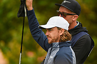 Tommy Fleetwood (ENG) looks over his tee shot on 2 during round 1 of the 2019 US Open, Pebble Beach Golf Links, Monterrey, California, USA. 6/13/2019.<br /> Picture: Golffile | Ken Murray<br /> <br /> All photo usage must carry mandatory copyright credit (© Golffile | Ken Murray)