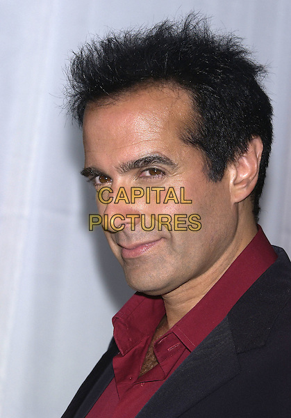 DAVID COPPERFIELD.World Music Awards (WMA's), Las Vegas, Nevada, USA,.September 15th 2004..portrait headshot.Ref: PL.www.capitalpictures.com.sales@capitalpictures.com.©Capital Pictures.