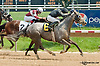 Fragancia winning at Delaware Park on 5/22/13 - Pedro Nazario's 1st career win!.