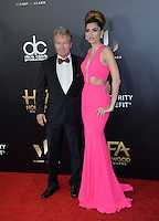 BEVERLY HILLS, CA. November 6, 2016: Actress Blanca Blanco &amp; actor John Savage at the 2016 Hollywood Film Awards at the Beverly Hilton Hotel.<br /> Picture: Paul Smith/Featureflash/SilverHub 0208 004 5359/ 07711 972644 Editors@silverhubmedia.com