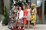 Teresa O'Brien, Marie Fleming, Tara O'Brein, Julie O'Sullivan, Marie O'Brien and Maureen Murphy, Tralee  pictured at the Killarney Apres Races party in The Brehon Hotel, Killarney on Thursday night.<br /> Photo: Don MacMonagle<br /> <br /> repro free photo<br /> further info: Aoife O'Donoghue aoife.odonoghue@gleneaglehotel.com