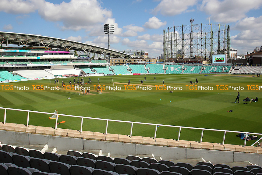 General view ahead of play on Day Two - Surrey CCC vs Essex CCC - LV County Championship Division Two Cricket at the Kia Oval, Kennington, London - 27/04/15 - MANDATORY CREDIT: Gavin Ellis/TGSPHOTO - Self billing applies where appropriate - contact@tgsphoto.co.uk - NO UNPAID USE