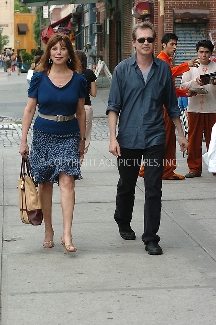 WWW.ACEPIXS.COM . . . . . ....July 2006, New York City. ....NY Candids: Steve Buscemi and wife Jo ....Please byline: ALI GOLDSTEIN - ACEPIXS.COM.. . . . . . ..Ace Pictures, Inc:  ..(212) 243-8787 or (646) 769 0430..e-mail: info@acepixs.com..web: http://www.acepixs.com