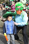 Frank Godfrey with Alex Wu at the 2010 St Patrick's Day Parade...Photo NEWSFILE/Jenny Matthews.(Photo credit should read Jenny Matthews/NEWSFILE)....This Picture has been sent you under the condtions enclosed by:.Newsfile Ltd..The Studio,.Millmount Abbey,.Drogheda,.Co Meath..Ireland..Tel: +353(0)41-9871240.Fax: +353(0)41-9871260.GSM: +353(0)86-2500958.email: pictures@newsfile.ie.www.newsfile.ie.FTP: 193.120.102.198.