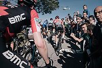 Tim Wellens (BEL/Lotto-Soudal) up the infamous Muro di Sormano (avg 17%/max 25%)<br /> <br /> Il Lombardia 2017<br /> Bergamo to Como (ITA) 247km