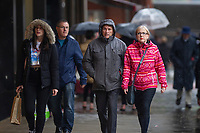 2019 06 07 Bad Weather Swansea City Centre, Swansea, Wales, UK.