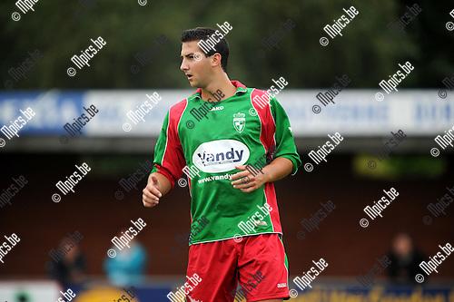2013-08-21 / Voetbal / seizoen 2013-2014 / Houtvenne / Glenn Goyvaerts<br /><br />Foto: Mpics.be