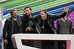 Imagine Dragons receives Special for Best International Rock Band of the Year Award during the gala of '40 Principales Awards 2013'.December 12,2013. (ALTERPHOTOS/Acero)
