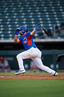 AZL Cubs 2 Brandon Vicens (15) an Arizona League game against the AZL Reds on July 23, 2019 at Sloan Park in Mesa, Arizona. AZL Cubs 2 defeated the AZL Reds 5-3. (Zachary Lucy/Four Seam Images)