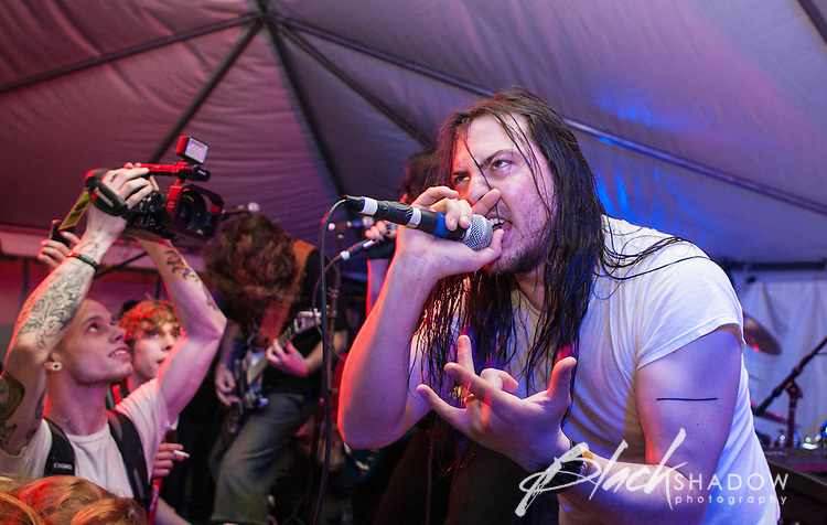 Andrew WK performing at SXSW, Austin Texas, March 2012