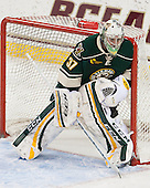 Brody Hoffman (UVM - 37) - The Boston College Eagles defeated the visiting University of Vermont Catamounts to sweep their quarterfinal matchup on Saturday, March 16, 2013, at Kelley Rink in Conte Forum in Chestnut Hill, Massachusetts.