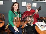 Christina Kennedy and John Watts playing at the Slow Sessions in the Droichead Arts Centre. Photo:Colin Bell/pressphotos.ie