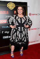LAS VEGAS, NV - March 27: Melissa McCarthy pictured arriving at Warner Broters Presentation at Cinemacon 2014 at Caesars Palace in Las Vegas, NV on March 27, 2014. © Kabik/ Starlitepics
