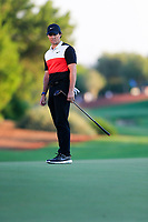 Rory McIlroy (NIR) on the 18th during the 2nd round of the DP World Tour Championship, Jumeirah Golf Estates, Dubai, United Arab Emirates. 22/11/2019<br /> Picture: Golffile | Fran Caffrey<br /> <br /> <br /> All photo usage must carry mandatory copyright credit (© Golffile | Fran Caffrey)