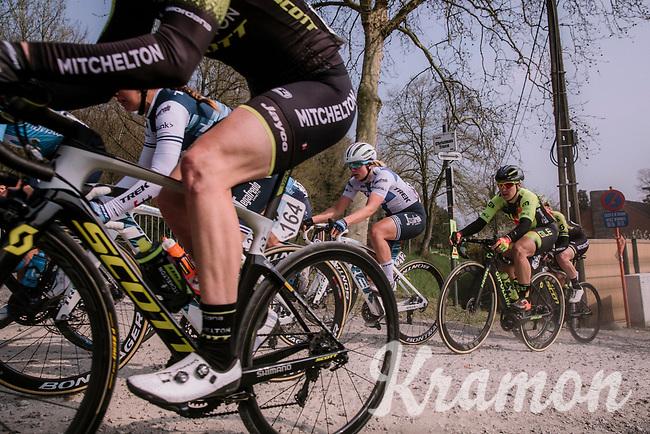 8th Gent-Wevelgem In Flanders Fields 2019 <br /> Elite Womens Race (1.WWT)<br /> <br /> One day race from Ypres (Ieper) to Wevelgem (137km)<br /> ©JojoHarper for Kramon