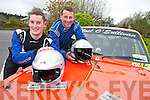 Noel O'Sullivan, Killarney who competed in his 30th Rally of the Lakes at the weekend pictured with his son Noel who competed in his first rally of the lakes...............