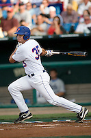 Florida's Brian Johnson against UCLA in Game 2 of the NCAA Division One Men's College World Series on Saturday June 19th, 2010 at Johnny Rosenblatt Stadium in Omaha, Nebraska.  (Photo by Andrew Woolley / Four Seam Images)
