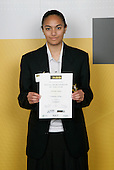 Volleyball Girls Winner - Caroline Semisi. ASB College Sport Young Sportsperson of the Year Awards 2006, held at Eden Park on Thursday 16th of November 2006.<br />