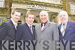 Kerry members at the GRA conference in the Malton Hotel on Tuesday l-r: Jerome Foley Caherciveen District Representative, Edmond Walsh Killarney District Representative and Kerry Branch Chairman, Ciaran Fitzgerald Listowel Division Secretary and Dave McMahon Tralee National Treasurer of the Central Executive