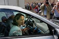 France , Frangy-en-Bresse . Fete de la Rose , Segolene Royal . Dimanche 20 aout 2006 - ©Jean-Claude Coutausse / french-politics