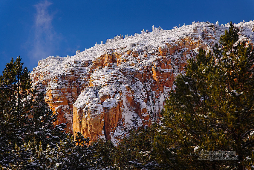 Sedona Winter Wonderland Part 4.  Available in sizes up to 30 x 45 inches.