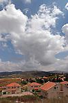 Samaria, a view of Shomron Valley and Sebastia from Shavei Shomrin