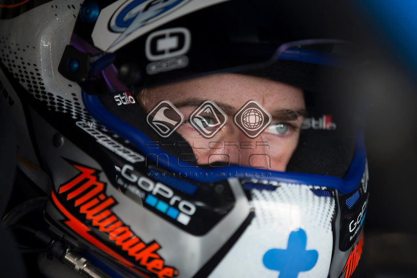 Chaz Mostert of Ford Performance Racing during the TYREPOWER TASMANIA 400, Event 02 of the 2014 Australian V8 Supercars Championship Series at the Symmons Plains Raceway, Launceston, Tasmania, March 28, 2014.<br /> <br /> <br /> <br /> <br /> &copy; Sport the library / Mark Horsburgh<br /> &copy; Sport the library / Mark Horsburgh