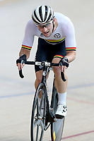 Dylan Kennett of Waikato BOP competes in the Elite Men Omnium 2 Tempo race 10km at the Age Group Track National Championships, Avantidrome, Home of Cycling, Cambridge, New Zealand, Saturday, March 18, 2017. Mandatory Credit: © Dianne Manson/CyclingNZ  **NO ARCHIVING**