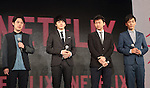 Casts of 'HIBANA' attend Netflix contents presentation at Nicofare Tokyo Japan on 27 Jun 2016. (Photo by Motoo Naka/AFLO)