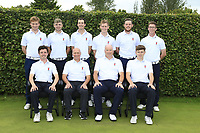 Interprovincial Championship Teams.<br /> Ulster Golf.<br /> Front, Rory Williamson, Shane McGee Team Captain, John McKinstry,  Mark McKinstry, Back Peter Kerr, Reece Black, Tiernan McLarnon, Ross Dutton, Matthew McClean Marc Norton.<br /> During the Interprovincial Championship 2018, Athenry golf club, Galway, Ireland. 30/08/2018.<br /> Picture Fran Caffrey / Golffile.ie<br /> <br /> All photo usage must carry mandatory copyright credit (&copy; Golffile | Fran Caffrey)