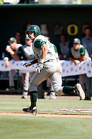 Adam Buschini - 2009 Cal Poly Mustangs.Photo by:  Bill Mitchell/Four Seam Images