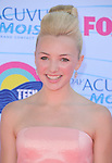Peyton List at FOX's 2012 Teen Choice Awards held at The Gibson Ampitheatre in Universal City, California on July 22,2012                                                                               © 2012 Hollywood Press Agency