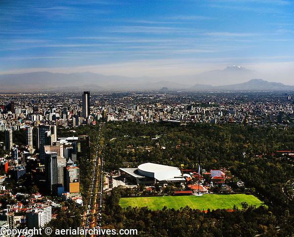 Mexico City aerial photograph