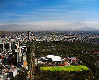 Mexico City aerial photograph