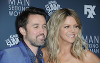 www.acepixs.com<br /> <br /> January 3 2017, LA<br /> <br /> Actors Rob McElhenney and Kaitlin Olson arriving at the premiere of FXX's 'It's Always Sunny In Philadelphia' Season 12 and 'Man Seeking Woman' Season 3 at the Fox Bruin Theatre on January 3, 2017 in Los Angeles, California. <br /> <br /> By Line: Peter West/ACE Pictures<br /> <br /> <br /> ACE Pictures Inc<br /> Tel: 6467670430<br /> Email: info@acepixs.com<br /> www.acepixs.com
