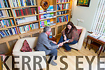Recovery Haven -   Dermot Crowley and Mairead Gallagher In the Library, one of the meeting rooms