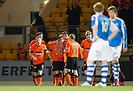 St Johnstone v Dundee United.....01.04.13      SPL.Ryan Gauld celebrates his goal.Picture by Graeme Hart..Copyright Perthshire Picture Agency.Tel: 01738 623350  Mobile: 07990 594431