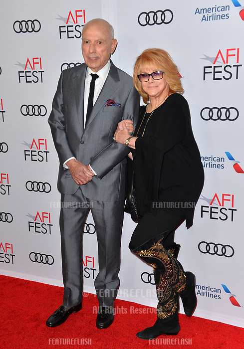"""LOS ANGELES, CA. November 10, 2018: Alan Arkin & Ann-Margret at the AFI Fest 2018 world premiere of """"The Kominsky Method"""" at the TCL Chinese Theatre.<br /> Picture: Paul Smith/Featureflash"""