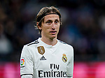 Luka Modric of Real Madrid is seen prior to the La Liga 2018-19 match between Real Madrid and Rayo Vallencano at Estadio Santiago Bernabeu on December 15 2018 in Madrid, Spain. Photo by Diego Souto / Power Sport Images