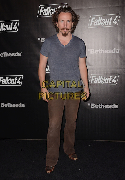 05 November - Los Angeles, Ca - Michael Traynor. Arrivals for the official launch party of the video game &quot;Fallout 4&quot; held at a private location in Downtown LA.  <br /> CAP/ADM/BT<br /> &copy;BT/ADM/Capital Pictures