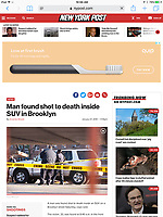 Fatal shooting of Brooklyn man in Canarsie, Brooklyn. Shot for NY Post.