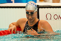 Federica Pellegrini Italia piange commossa Medaglia d'oro e record del mondo 200m stile libero.Gold Medal and World record .National Aquatics Centre Nuoto.Pechino - Beijing 13/8/2008 Olimpiadi 2008 Olympic Games.Foto Andrea Staccioli Insidefoto