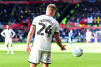 Viola Branding during the Sky Bet Championship match between Swansea City and Cardiff City at the Liberty Stadium in Swansea, Wales, UK. Sunday 27 October 2019