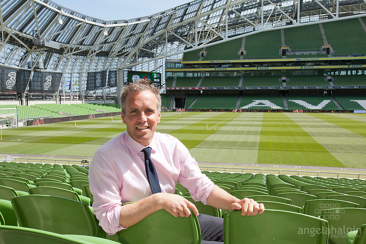 Max Hamilton is a commercial and marketing director of the Football Association of Ireland