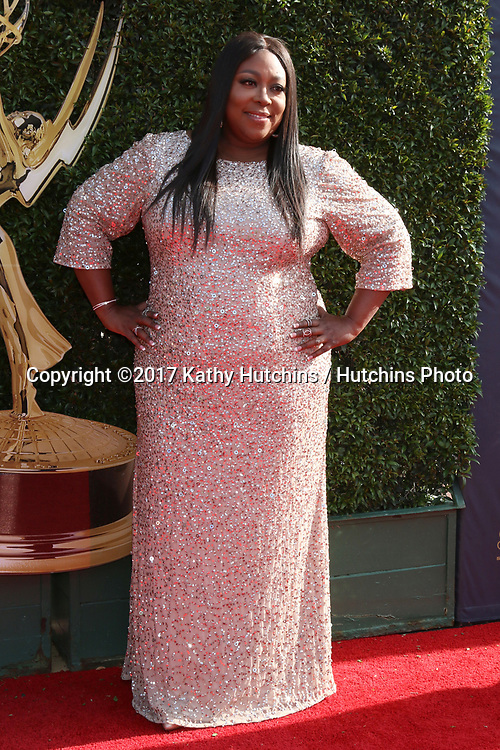 LOS ANGELES - APR 28:  Loni Love at the 2017 Creative Daytime Emmy Awards at the Pasadena Civic Auditorium on April 28, 2017 in Pasadena, CA
